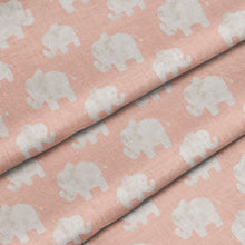 Load image into Gallery viewer, Glenna Jean Mini Crib Fitted Sheet Elephant Herd Blush - Shop Baby Slings & wraps, Baby Bedding & Home Decor !