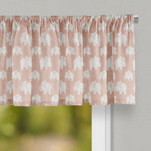Load image into Gallery viewer, Elephant Herd - Blush Valance - Shop Baby Slings & wraps, Baby Bedding & Home Decor !