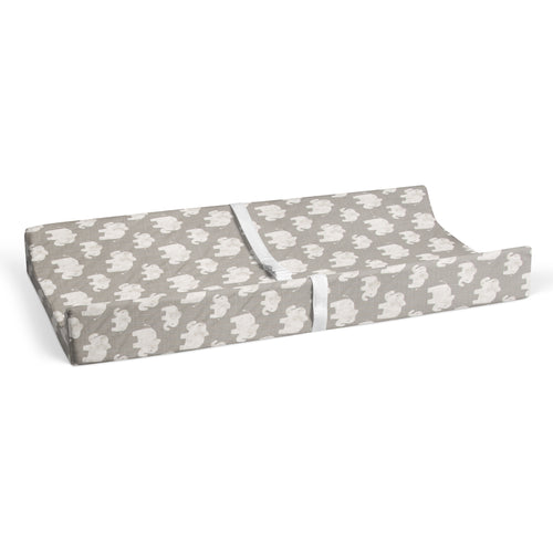 Elephant Herd - Stone Changing Pad Cover - Shop Baby Slings & wraps, Baby Bedding & Home Decor !