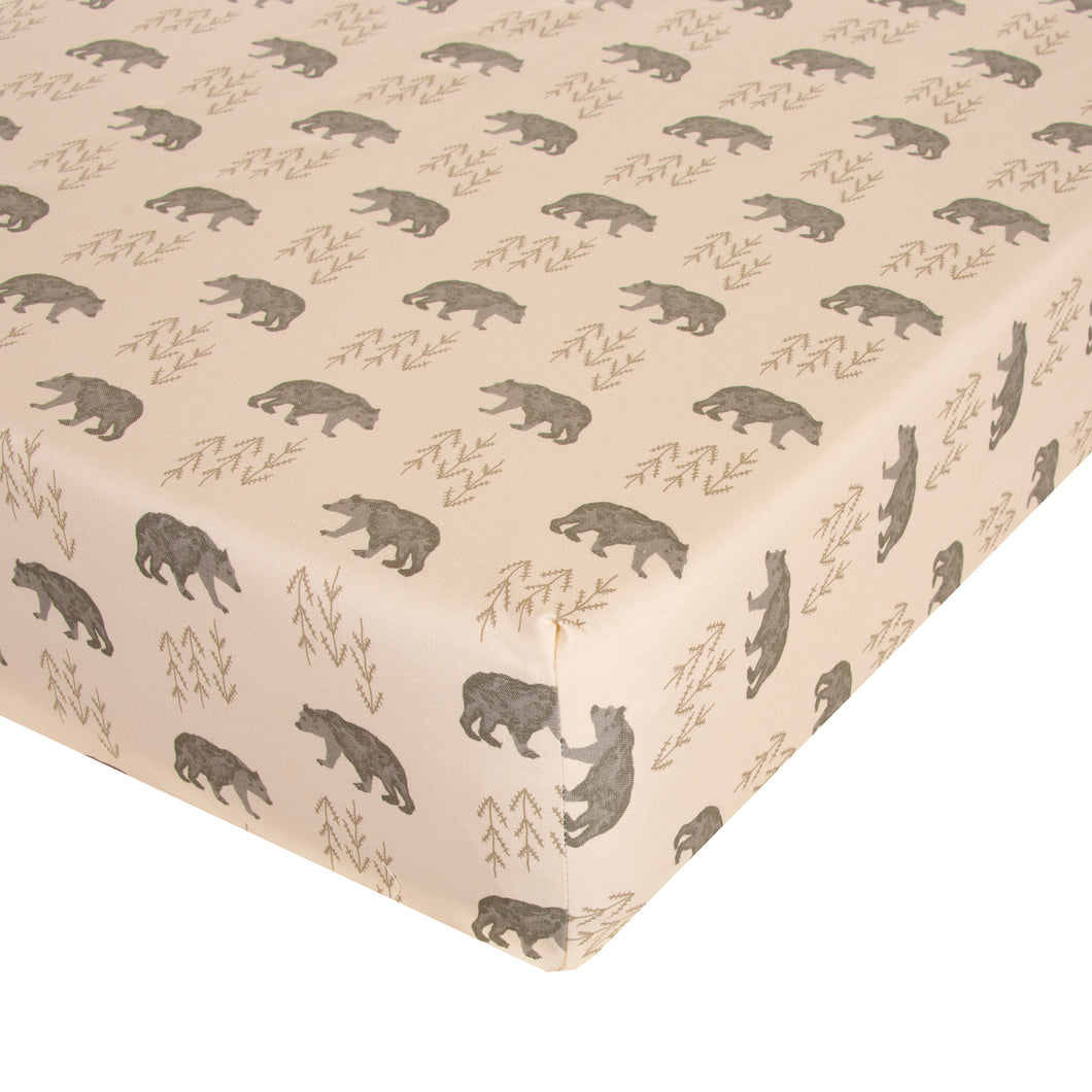 Glenna Jean Mini Crib Fitted Sheet Fairbanks - Shop Baby Slings & wraps, Baby Bedding & Home Decor !