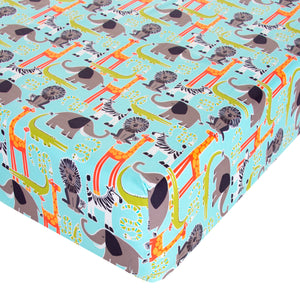 Jungle Babies Fitted Sheet - Shop Baby Slings & wraps, Baby Bedding & Home Decor !