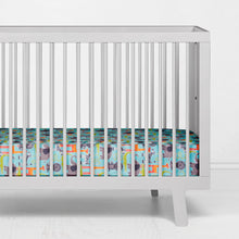 Load image into Gallery viewer, Jungle Babies Fitted Sheet - Shop Baby Slings & wraps, Baby Bedding & Home Decor !