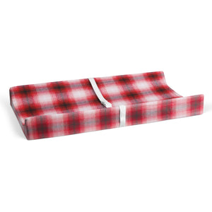 Flannel Check - Red Changing Pad Cover - Shop Baby Slings & wraps, Baby Bedding & Home Decor !