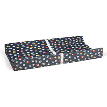 Load image into Gallery viewer, Hooptie Changing Pad Cover Dark Grey Dot
