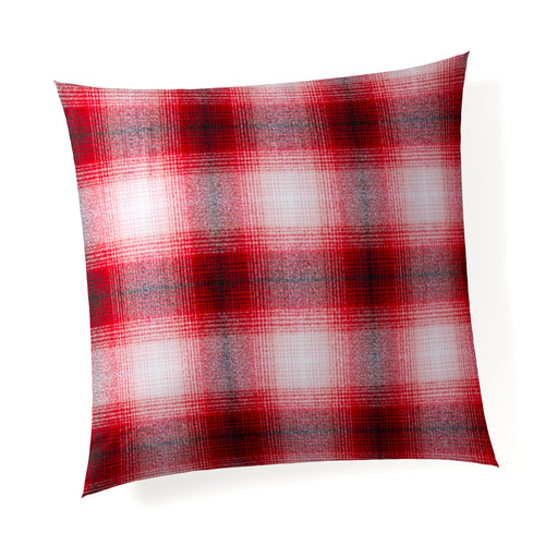 Flannel Check - Red Pillow - Shop Baby Slings & wraps, Baby Bedding & Home Decor !