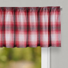 Load image into Gallery viewer, Flannel Check - Red Valance - Shop Baby Slings & wraps, Baby Bedding & Home Decor !