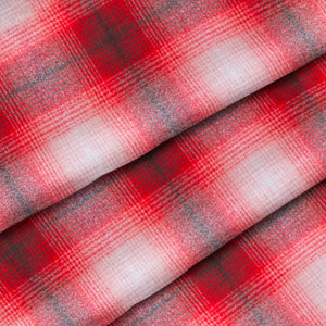 Flannel Check - Red Valance - Shop Baby Slings & wraps, Baby Bedding & Home Decor !