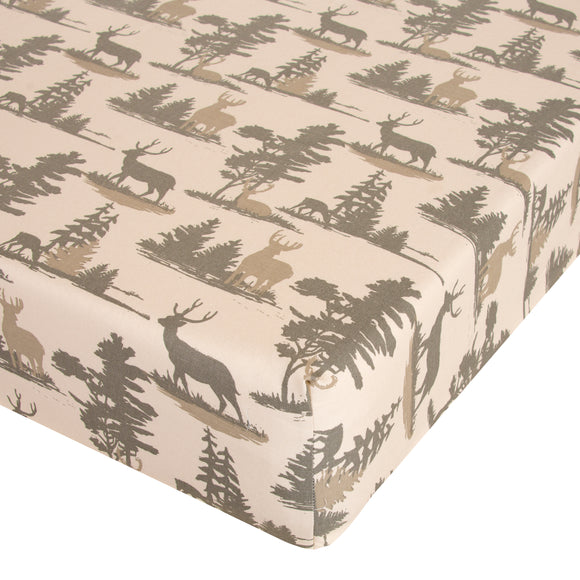 Glenna Jean Mini Crib Fitted Sheet Timberline - Shop Baby Slings & wraps, Baby Bedding & Home Decor !