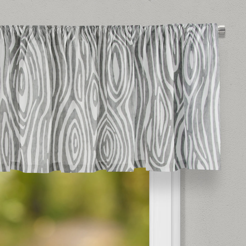 Tree Trunk - Grey Valance - Shop Baby Slings & wraps, Baby Bedding & Home Decor !