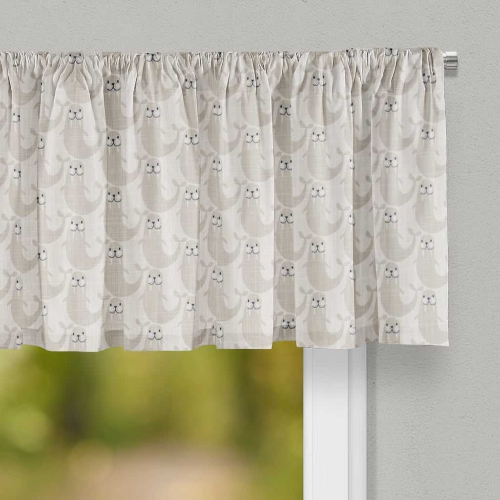 Walrus Time Valance - Shop Baby Slings & wraps, Baby Bedding & Home Decor !