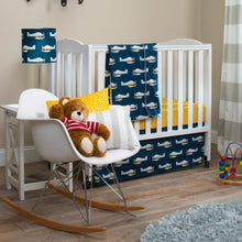 Load image into Gallery viewer, First Flight Crib Skirt - Shop Baby Slings & wraps, Baby Bedding & Home Decor !