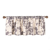 "Faux  Cow Animal Curtain Valance 70""W x18""H - Shop Baby Slings & wraps, Baby Bedding & Home Decor !"
