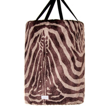 Load image into Gallery viewer, Faux Zebra Large Laundry Basket - Shop Baby Slings & wraps, Baby Bedding & Home Decor !