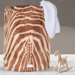Faux Zebra Large Laundry Basket - Shop Baby Slings & wraps, Baby Bedding & Home Decor !