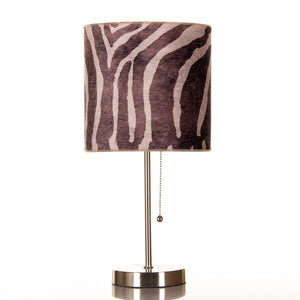 Faux Zebra Mod Lamp - Shop Baby Slings & wraps, Baby Bedding & Home Decor !