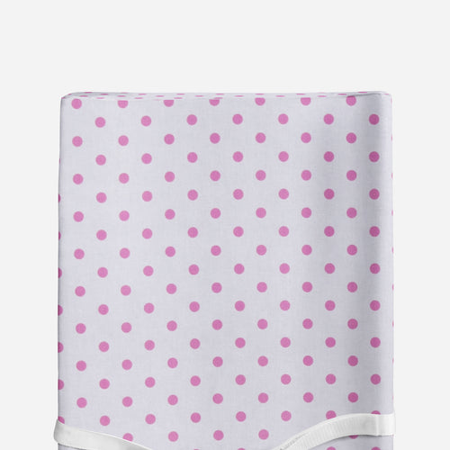 Glenna Jean Pink Dot Changing Pad Cover