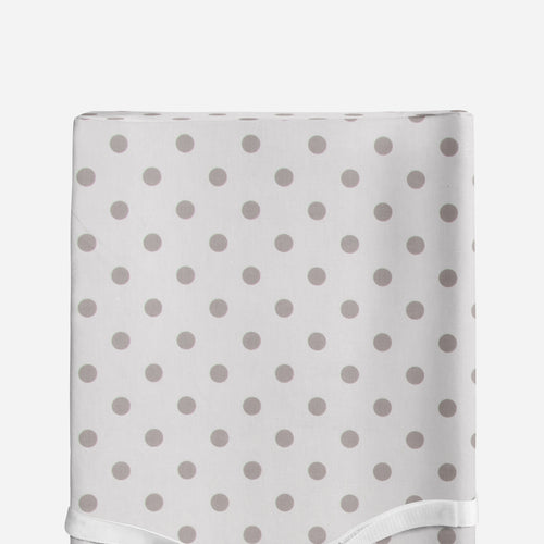 Glenna Jean Grey Dot Changing Pad Cover