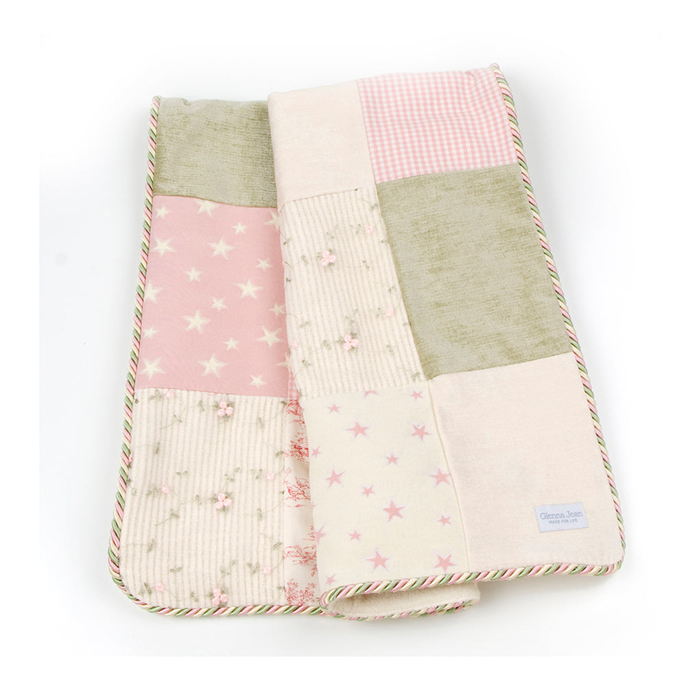 ISABELLA 4 PIECE SET (QUILT, CRIB SKIRT AND TOILE FITTED SHEET AND BUMPER) - Shop Baby Slings & wraps, Baby Bedding & Home Decor !