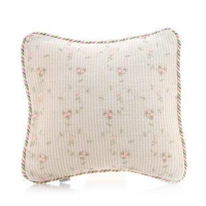 Isabella Pillow - Rosebud Embroidery - Shop Baby Slings & wraps, Baby Bedding & Home Decor !