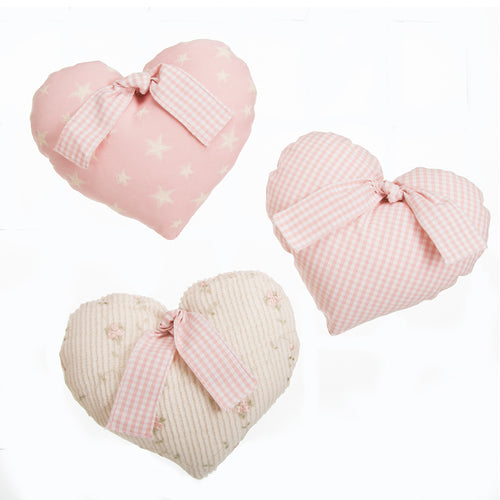Isabella Wall Hanging (Set of 3 Hearts) - Shop Baby Slings & wraps, Baby Bedding & Home Decor !