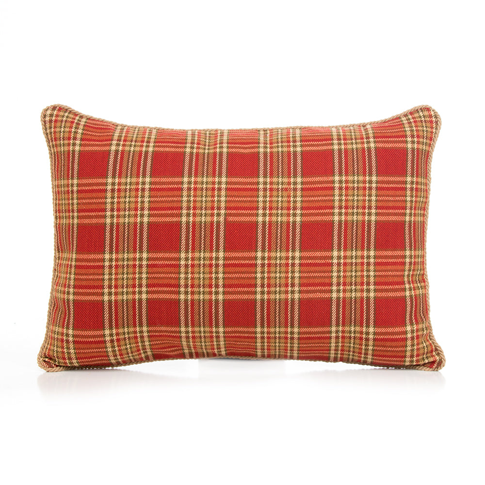Carson Small Sham (Plaid with Cord) - Shop Baby Slings & wraps, Baby Bedding & Home Decor !