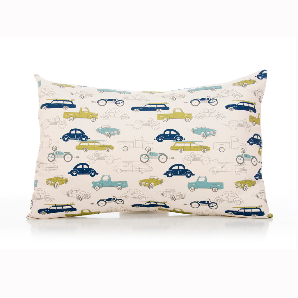 Uptown Traffic Small Sham - Cars - Shop Baby Slings & wraps, Baby Bedding & Home Decor !