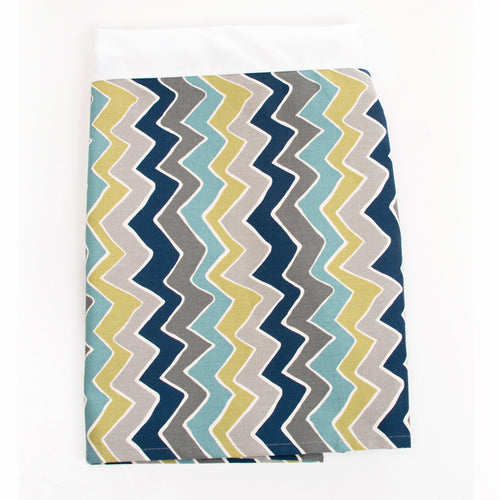 Uptown Traffic Crib skirt (16