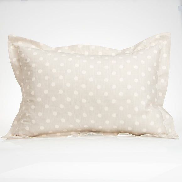 Contessa Large Sham (Grey Dot) - Shop Baby Slings & wraps, Baby Bedding & Home Decor !