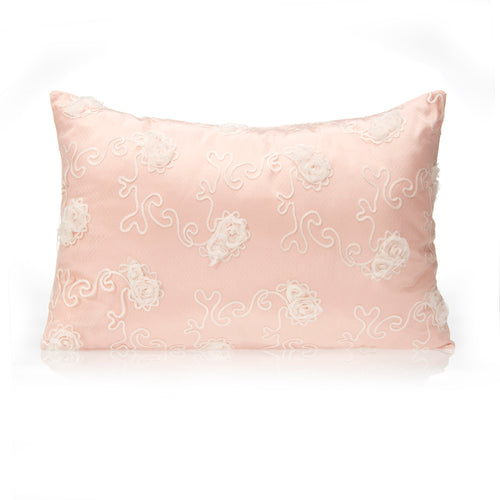 Lil' Princess Small Sham (Floral Overlay)