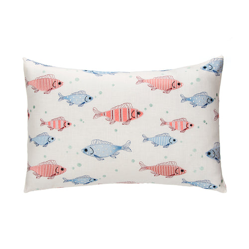 Fish Tales Small Sham (Embroidered Fish) - Shop Baby Slings & wraps, Baby Bedding & Home Decor !
