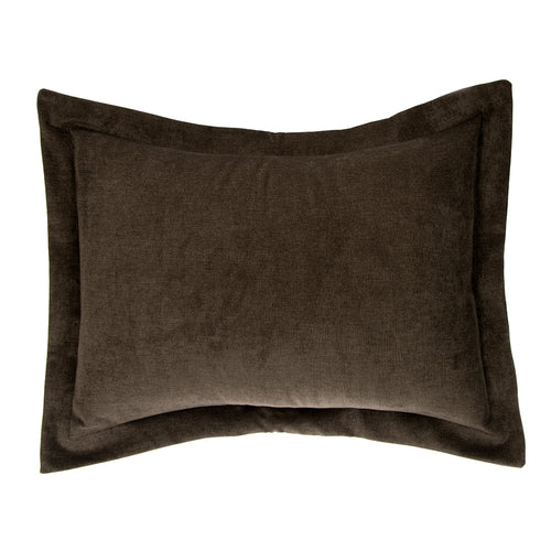 North Country Large Sham (Charcoal Velvet) - Shop Baby Slings & wraps, Baby Bedding & Home Decor !