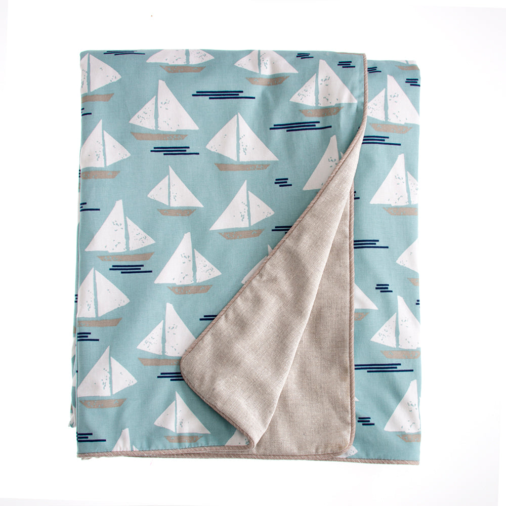 Little Sail Boat  Duvet - Shop Baby Slings & wraps, Baby Bedding & Home Decor !