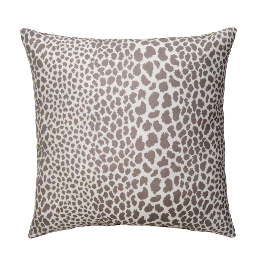 Don't Be Catty - Grey Square Pillow 28