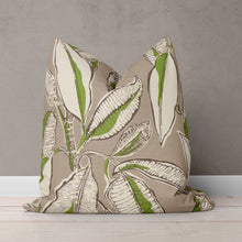 "Load image into Gallery viewer, Panama - Tan Square Pillow 28"" x 28"" - Shop Baby Slings & wraps, Baby Bedding & Home Decor !"