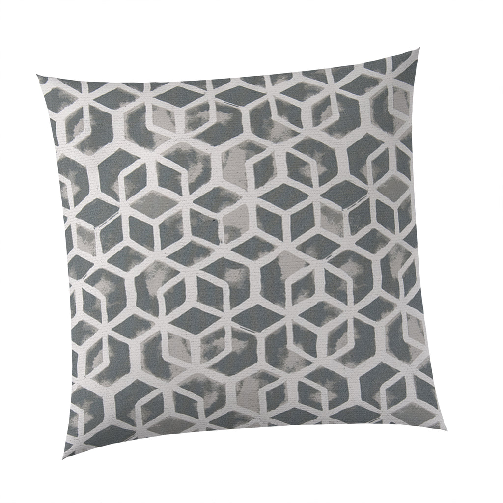 "Cubed - Grey Square Pillow 28"" x 28"" - Shop Baby Slings & wraps, Baby Bedding & Home Decor !"
