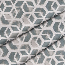 "Load image into Gallery viewer, Cubed - Grey Square Pillow 28"" x 28"" - Shop Baby Slings & wraps, Baby Bedding & Home Decor !"