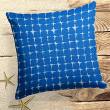 "Load image into Gallery viewer, Sea Island Blue (Neptune Blue) Square Pillow 25"" x 25"" - Shop Baby Slings & wraps, Baby Bedding & Home Decor !"
