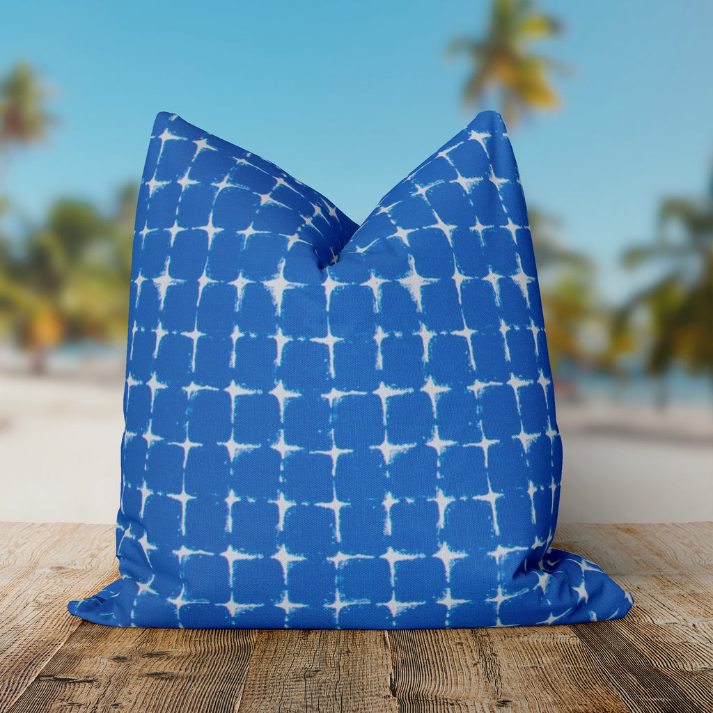 "Sea Island Blue (Neptune Blue) Square Pillow 28"" x 28"" - Shop Baby Slings & wraps, Baby Bedding & Home Decor !"