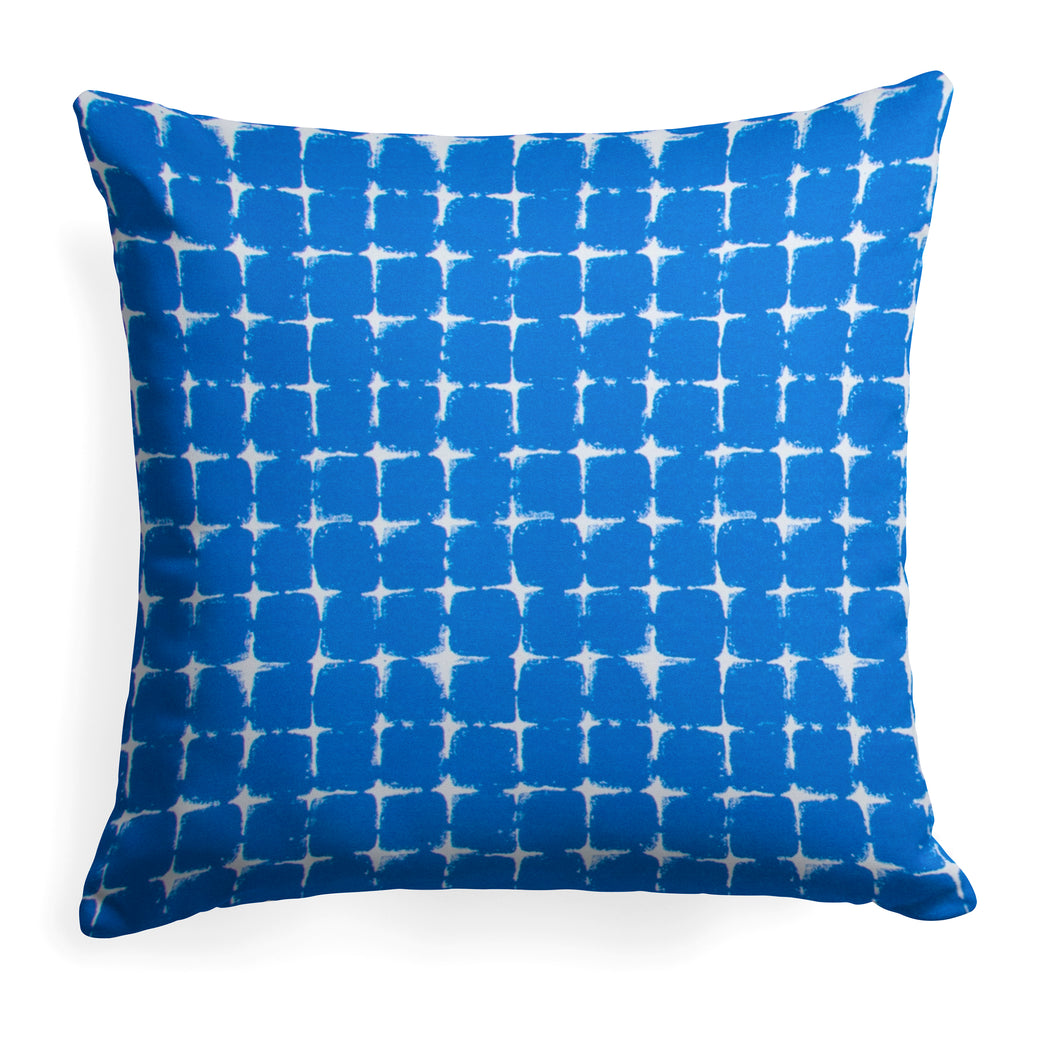 Sea Island Blue (Neptune Blue) Square Pillow 25
