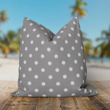 "Load image into Gallery viewer, Coastal Grey (Dab Grey) Square Pillow 25"" x 25"" - Shop Baby Slings & wraps, Baby Bedding & Home Decor !"