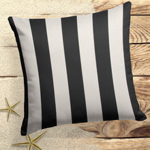 Load image into Gallery viewer, Tuxedo Stripe (Lux) Square 18.5 x 18.5 (1 pk) - Shop Baby Slings & wraps, Baby Bedding & Home Decor !