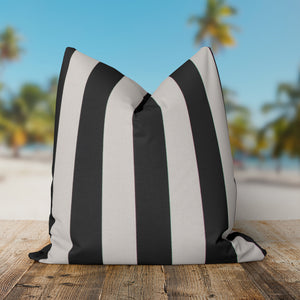 Tuxedo Stripe (Lux) Square Pillow 25 x 25 (1pk) - Shop Baby Slings & wraps, Baby Bedding & Home Decor !