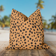 "Load image into Gallery viewer, Malibu (Wildcat) Square Pillow 18.5"" x 18.5"" - Shop Baby Slings & wraps, Baby Bedding & Home Decor !"