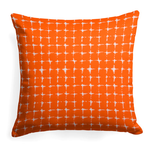 Sea Island Orange (Neptune Orange) Square Pillow 28