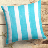"Caravan Aqua (Cabana Aqua) Square Pillow 25""x25"" - Shop Baby Slings & wraps, Baby Bedding & Home Decor !"