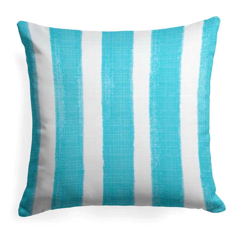 "Caravan Aqua (Cabana Aqua) Square Pillow 28""x28"" - Shop Baby Slings & wraps, Baby Bedding & Home Decor !"