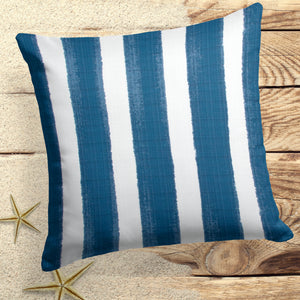 "Caravan Navy (Cabana Navy) Square Pillow 18.5"" x 18.5"" - Shop Baby Slings & wraps, Baby Bedding & Home Decor !"