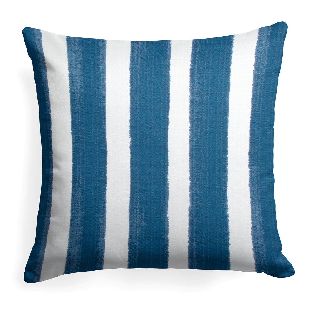 "Caravan Navy (Cabana Navy) Square Pillow 25"" x 25"" - Shop Baby Slings & wraps, Baby Bedding & Home Decor !"