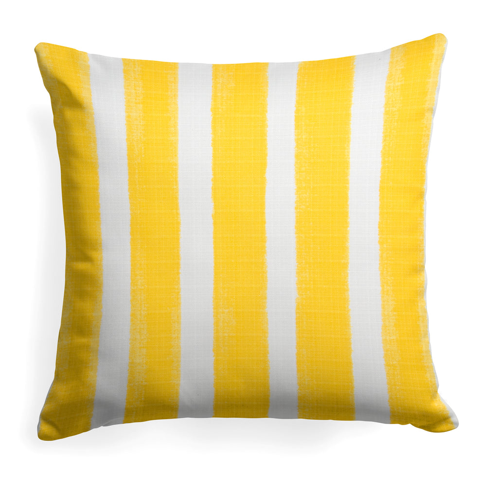 "Caravan Yellow (Cabana Yellow) Square Pillow 25"" x 25"" - Shop Baby Slings & wraps, Baby Bedding & Home Decor !"