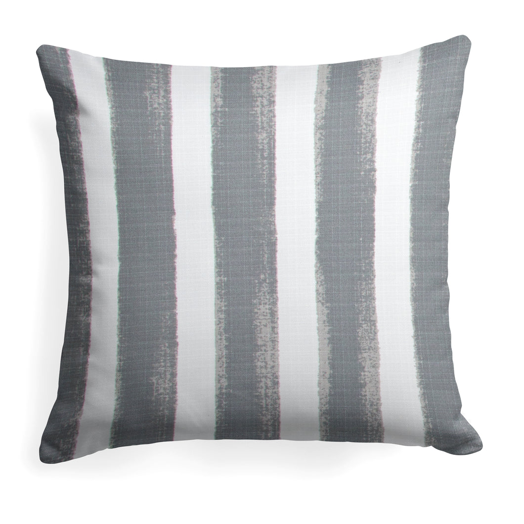 Caravan Grey (Cabana Grey) Square Pillow 18.5